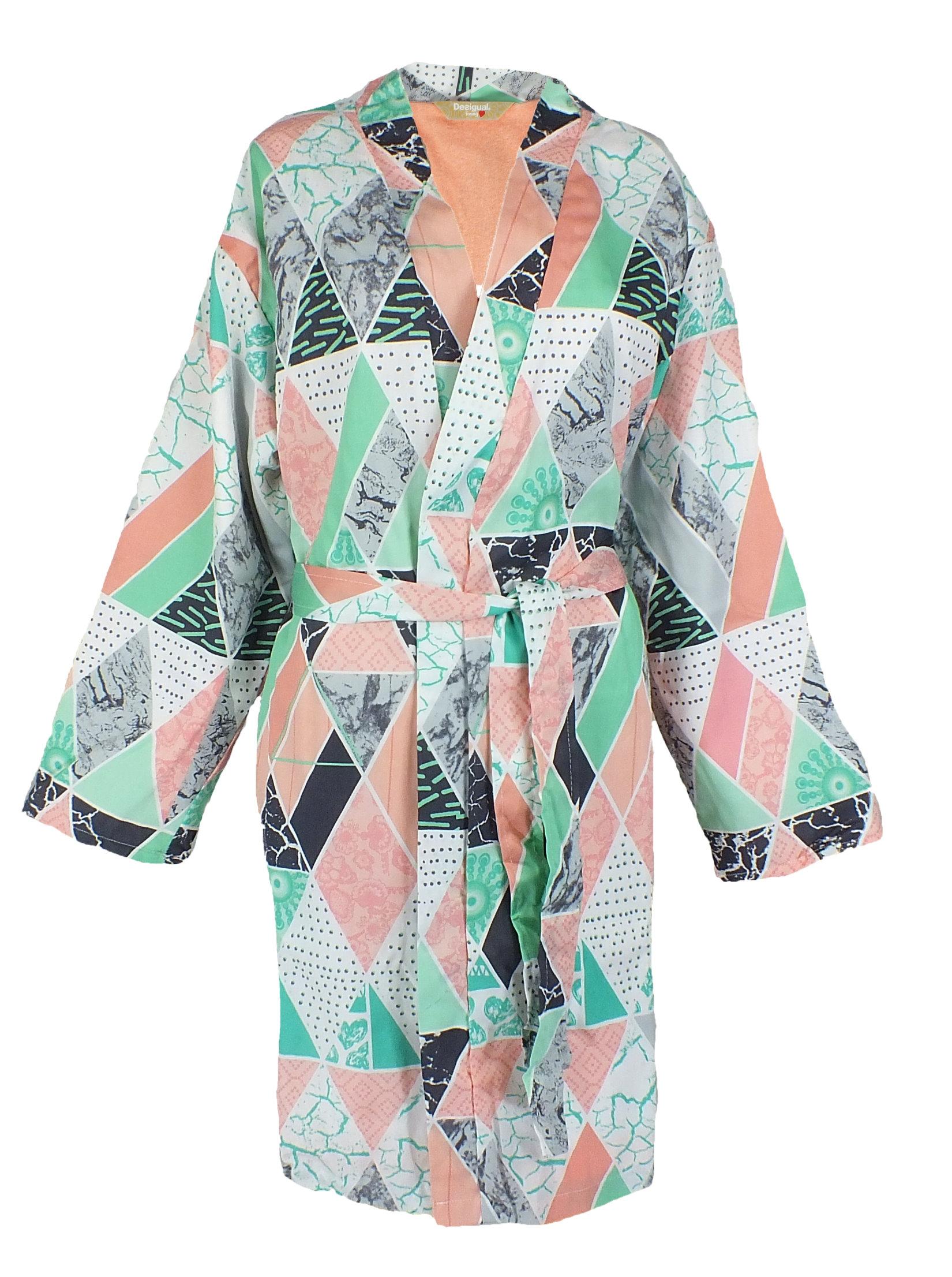 Desigual 72bl0b1 Sur Robe De Femmes Chambre Peignoir Détails 1TlFc53uKJ