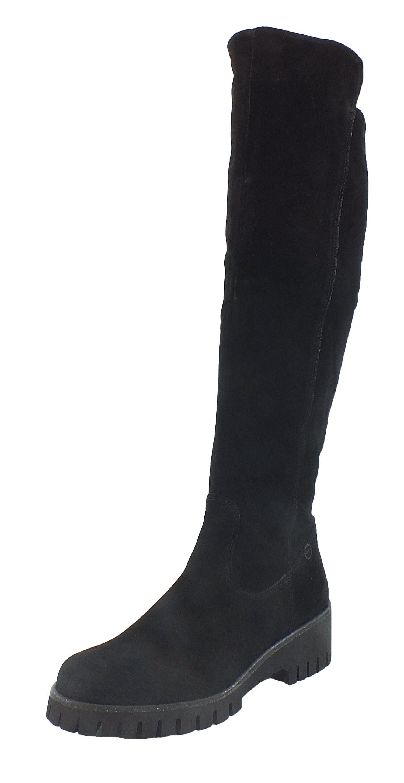 Tamaris Leder Stiefel Stiefel schwarz  10302  schwarz    9d1f12