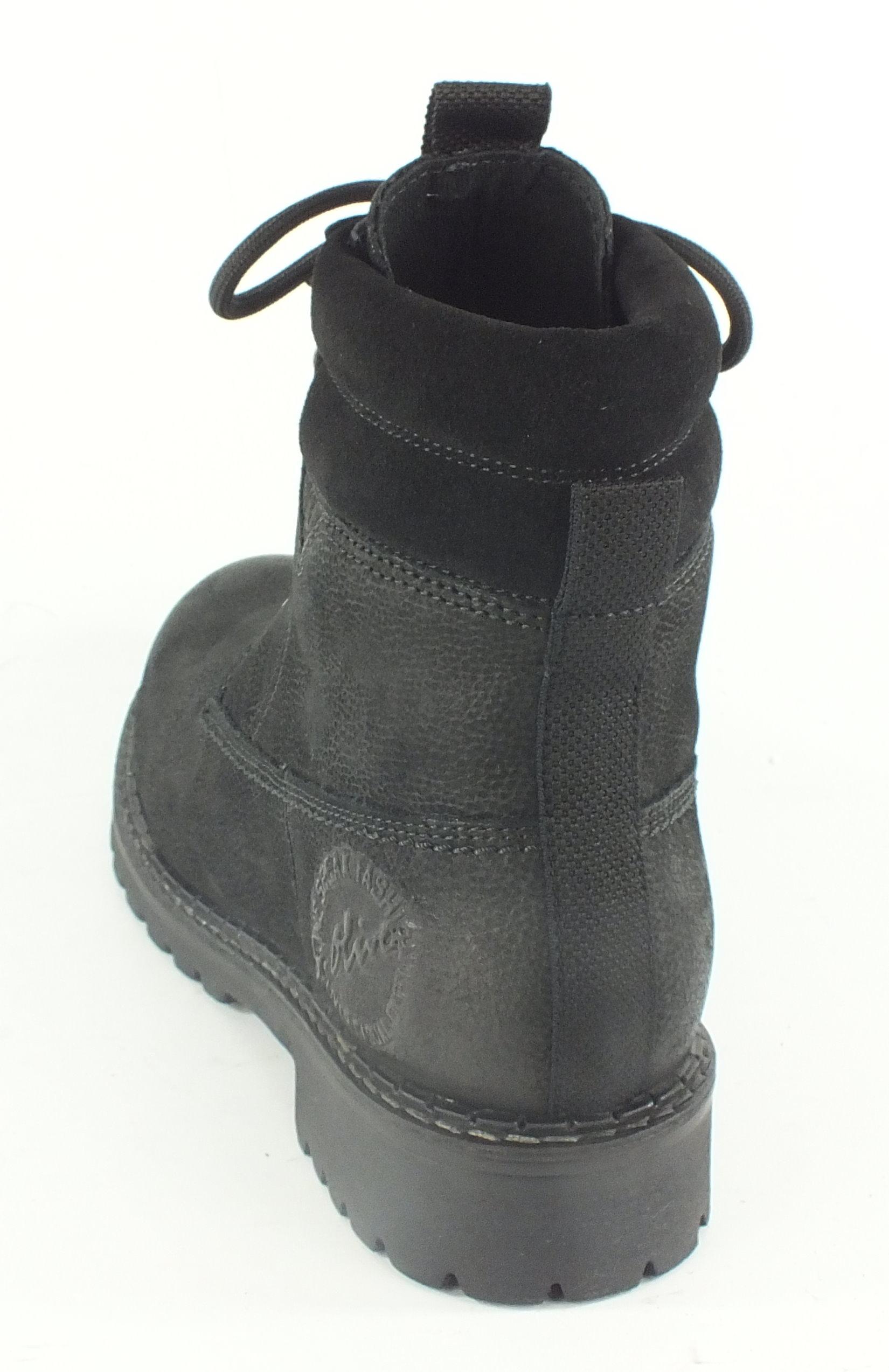 s oliver leder stiefelette stiefel boots schwarz 7344 ebay. Black Bedroom Furniture Sets. Home Design Ideas