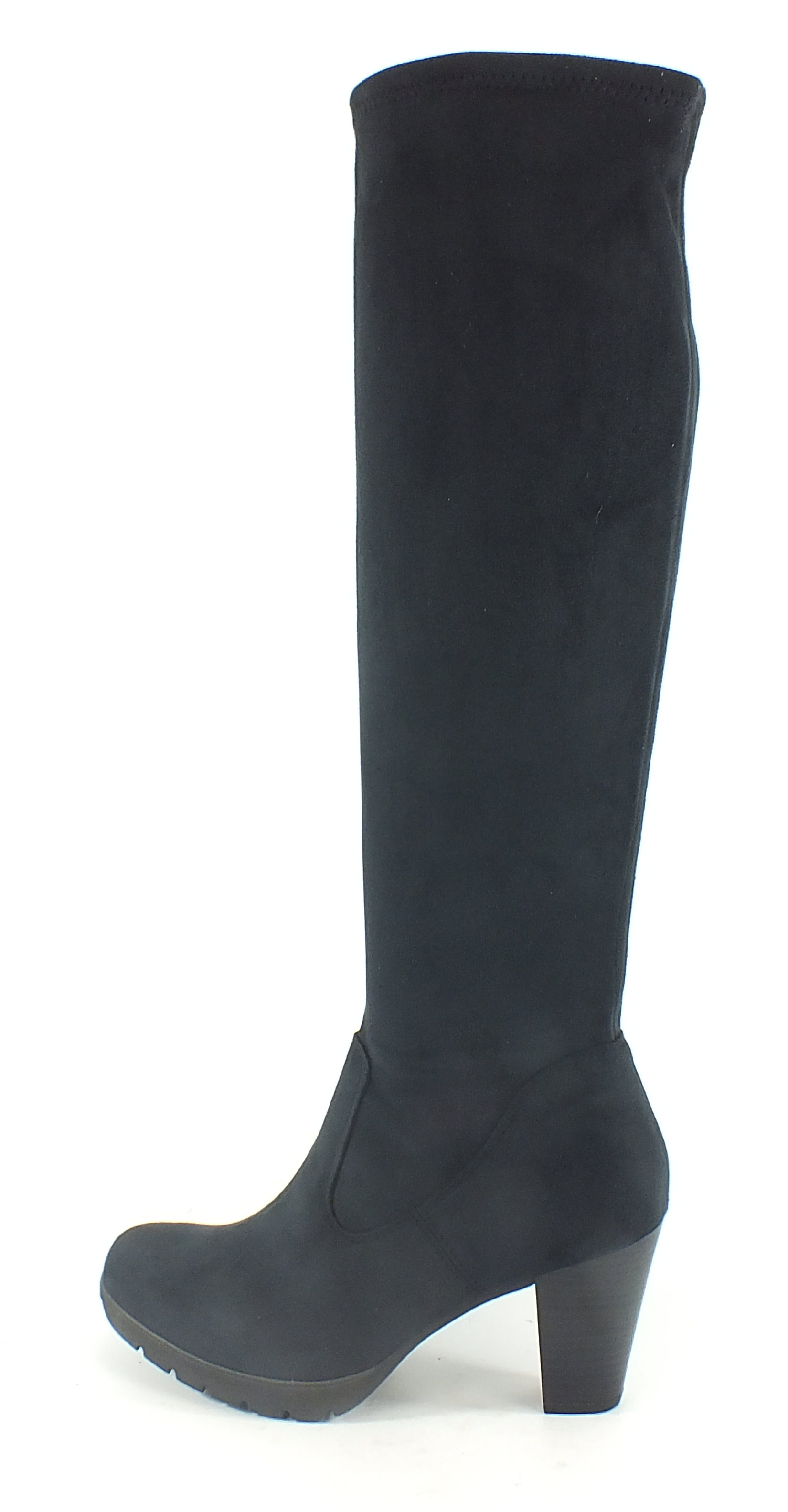 tamaris stretch stiefel boots navy blau 7443 ebay. Black Bedroom Furniture Sets. Home Design Ideas